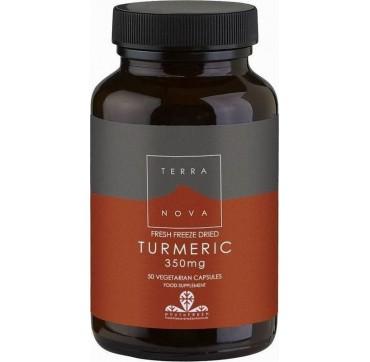 Terranova Turmeric 350mg 50vcaps