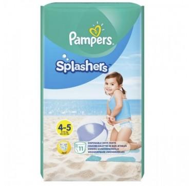Pampers Splashers 4-5 (9-15kg+) 11 Πανεσ-μαγιο