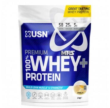 Usn Nutrition 100% Premium Whey+ Protein Vanilla Flavour 2kg