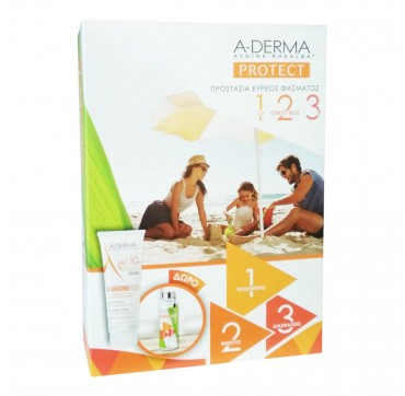 A-derma Promo Pack Protect Kids Lait Spf50+ 250ml & Δώρο Παιδικό Παγούρι