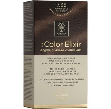 Apivita My Color Elixir 7. 35 Ξανθό Μέλι Μαονί 1τμχ