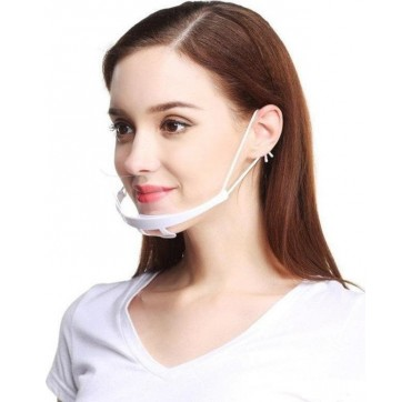 Epsilon Διάφανη Ασπίδα Προστασίας Στόματος - Μύτης 1τμχ