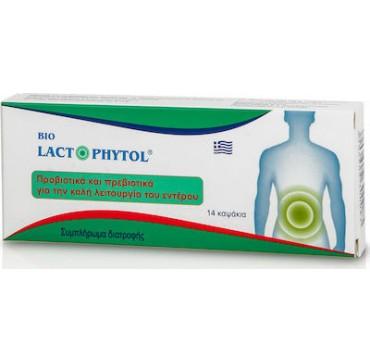 Medichrom Bio Lactophytol Προβιοτικα Και Πρεβιοτικα 14caps