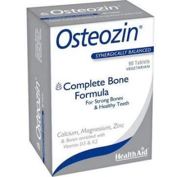 HEALTH AID OSTEOZIN COMPLETE BONE FORMULA 90TABS