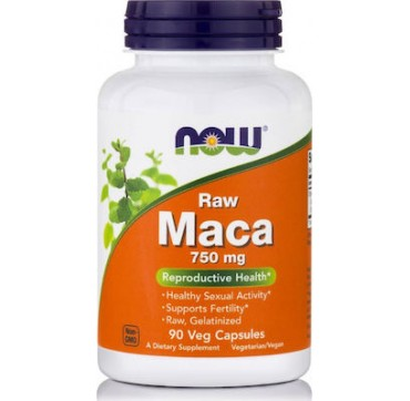 Now Maca 750mg 90veg Caps