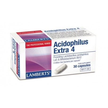 LAMBERTS ACIDOPHILUS EXTRA 4 (MILK FREE) 30tab