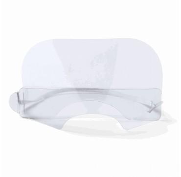 Epsilon Διάφανη Μάσκα - Ασπίδα Προστασίας Στόματος - Μύτης 100τμχ