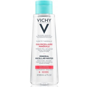 Vichy Purete Thermale Mineral Micellar Water Face & Eyes Sensitive Skin 200ml