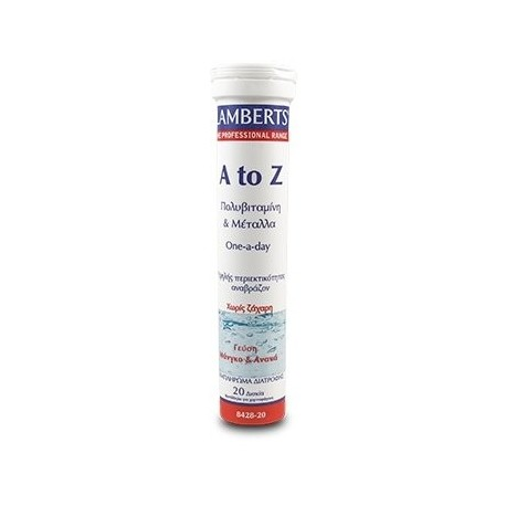 LAMBERTS A TO Z MULTIVITAMINS EFFER 20tabs