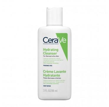 Cerave Hydrating Cleanser Κρέμα Καθαρισμού Για Κανονικό Έως Ξηρό Δέρμα 88ml