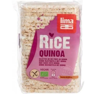 Lima Λεπτές Ρυζογκοφρέτες Με Κινόα 130g