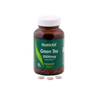 HEALTHAID GREEN TEA 1000MG 60TABS