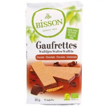 Bisson Gaufrettes Chocolate 190g