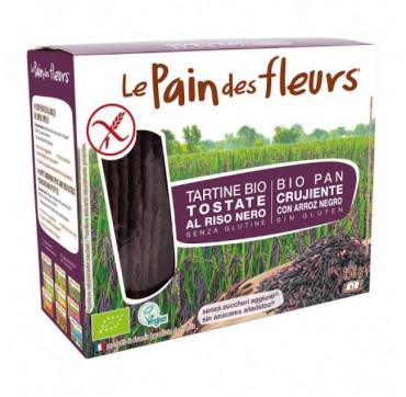 Le Pain Des Fleurs Φρυγανισμένο Τραγανό Βιολογικό Ψωμί Από Μαύρο Ρύζι 150g
