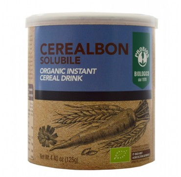 PROBIOS CEREALBON SOLUBILE ORGANIC INSTANT CEREAL DRINK 125g