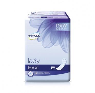 Tena Discreet Maxi Σερβιέτες X12 3xprotection