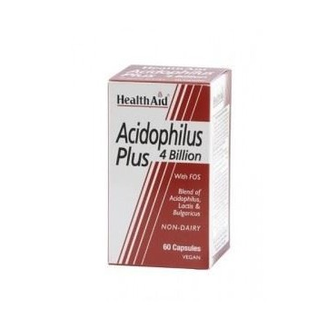 HEALTH AID ACIDOPHILUS PLUS 60caps