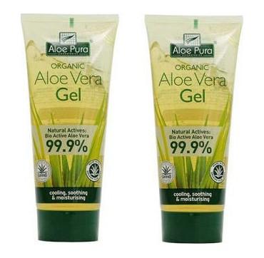 Aloe Pura Organic Aloe Vera Gel Bio Active Aloe Vera 99. 9% 2x100ml (-50% Στο Δεύτερο Προϊόν)
