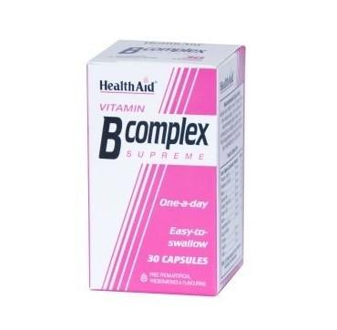 HEALTH AID B-COMPLEX 30caps