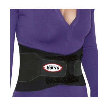 Johns Lumbax Back Support Black Line Supports Your Active Life Size Small