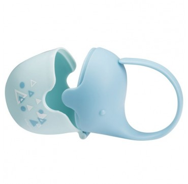 BABYONO TAKE CARE SOOTHER CASE ELEPHANT BLUE FROM 0+ MONTHS - ΘΗΚΗ ΠΙΠΙΛΑΣ ΕΛΕΦΑΝΤΑΣ ΜΠΛΕ ΑΠΟ 0 ΜΗΝΩΝ