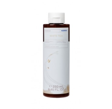 Korres Αφρόλουτρο White Tea Bergamot Freesia 250ml