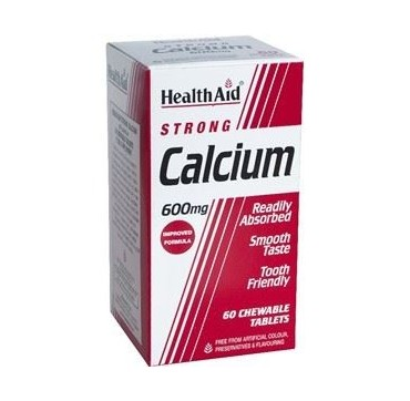 HEALTH AID CALCIUM STRONG 600mg 60tabs