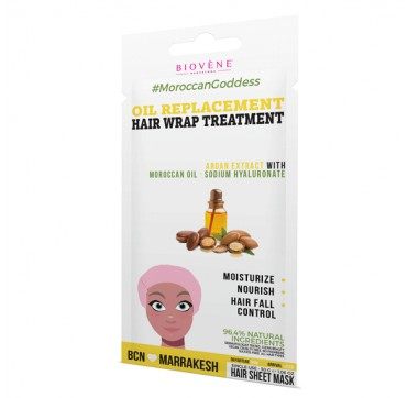 BIOVENE OIL REPLACEMENT HAIR WRAP TREATMENT MASK 30g