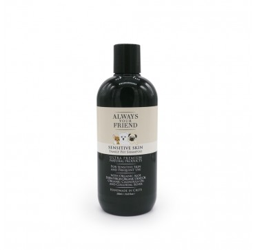 Always Your Frient Sensitive Skin Family Pet Shampoo - Φυσικό Σαμπουάν Για Δερματοπάθειες Και Κακοσμία 250ml