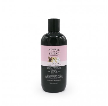 Always Your Friend Powder Family Pet Shampoo - Φυσικό Σαμπουάν Για Κάθε Τύπο Τριχώματος 250ml