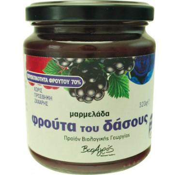 Bioagros Μαρμελάδα Φρούτα Του Δάσους 320g