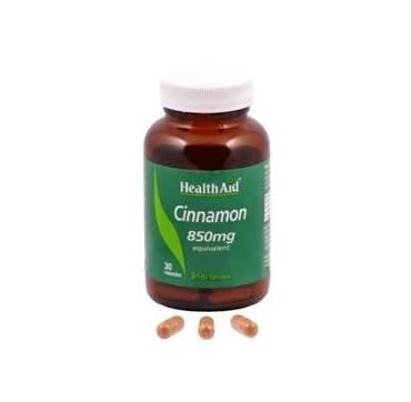 HEALTH AID CINNAMON 850mg 30caps