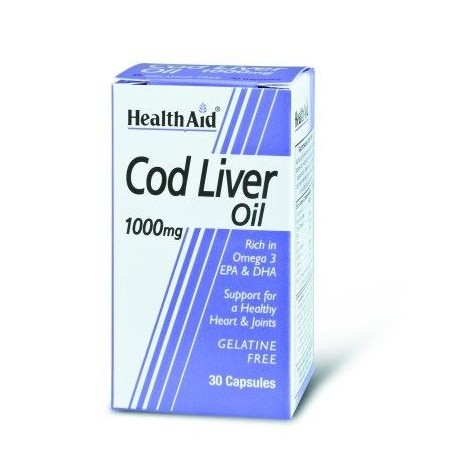 HEALTH AID COD LIVER OIL 1000mg 30caps