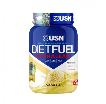 Usn Meal Replacement Shake Dietfuel Ultralean Vanilla Flavoured 25g High Protein Per 54g Serving 1kg