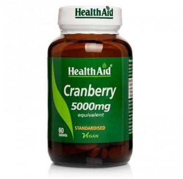 HEALTH AID CRANBERRY 5000mg 60tabs