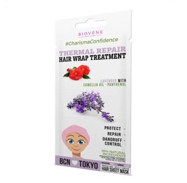 Biovene Thermal Repair Hair Wrap Treatment Lavender With Camellia Oil - Panthenol 30g