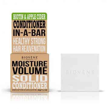 Biovene Moisture Volume Conditioner In A Bar (solid) Biotin & Apple Cider - Μαλακτικό (στερεό) Βιοτινη Και Μηλίτη 40g