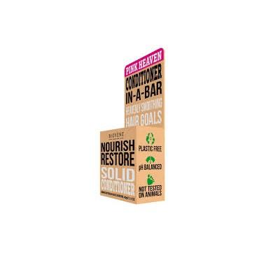 Biovene Nourish Restore Conditioner In A Bar (solid) Pink Heaven - Μαλακτικό (στερεό) 40g
