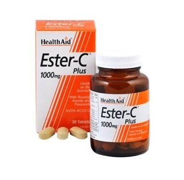 HEALTH AID ESTER-C PLUS 1000mg 30tabs