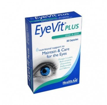 HEALTH AID EYE-VIT PLUS 30caps