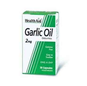 Health Aid Garlic Oil 2mg 30caps