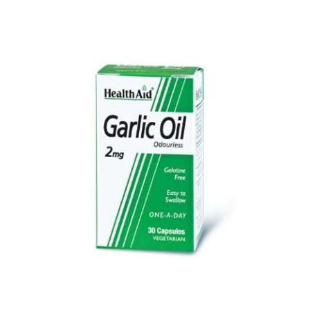 HEALTH AID GARLIC OIL 2mg 30caps