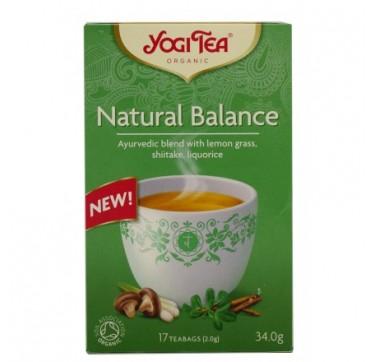 Yogi Tea Natural Balance 17 Teabags 34g