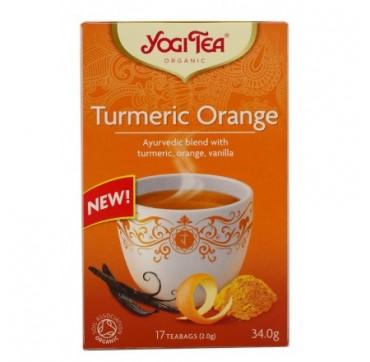 Yogi Tea Turmeric Orange 17 Teabags 34g