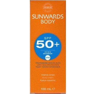 Synchroline Sunwards Spf50 Body Cream 100ml