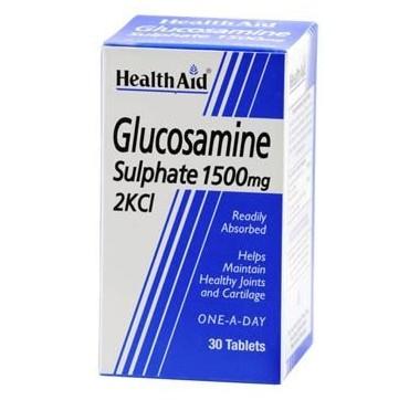 HEALTH AID GLUCOSAMINE SULPHATE 1500mg 30tabs