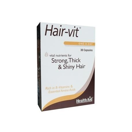 HEALTHAID HAIRVIT BLISTER 30CAPS