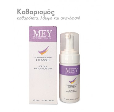 MEY CLEANSER - BALANCING FOAMING CLEANSER 100ml
