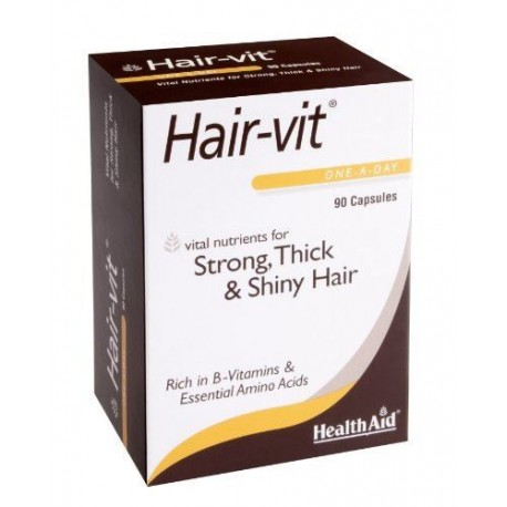 HEALTH AID HAIRVIT ENOCOMY 90caps