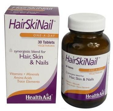Health Aid Hairskinail 30tabs